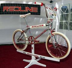 1982 Redline MX-III - BMXmuseum.com - my favorite bike of the 2008 Rockford Show