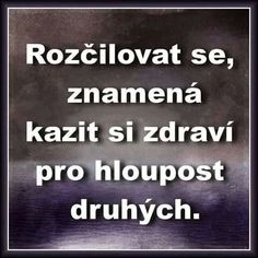 To je pravda. Story Quotes, Wise Quotes, Motivational Quotes, Healthy Lifestyle Tips, Mindfulness Meditation, Just Smile, Motto, Slogan, Quotations