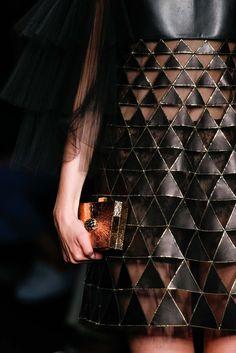 skaodi:  Valentino Fall/Winter 2015.Paris Fashion Week.TRIANGLE