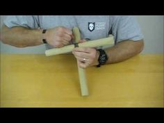 ▶ Knot of the Week - Diagonal Lashing - YouTube
