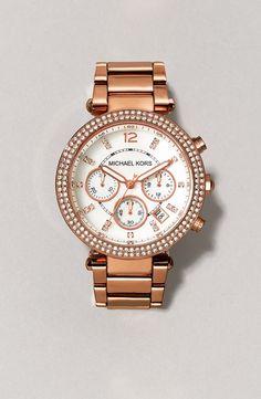 Michael Kors 'Parker' Chronograph Bracelet Watch, 39mm | Nordstrom