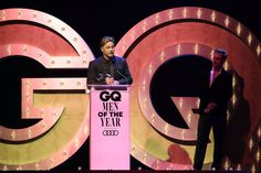 Travis Fimmel Photos - Travis Fimmel accepts the award for Actor of the Year during the GQ Men Of The Year Awards Ceremony at The Star on November 15, 2017 in Sydney, Australia. - GQ Men of the Year Awards - Ceremony