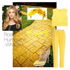 """Test """"The Wizard of Oz"""" inspiring: The Yellow Birck Road by da-da-loo on Polyvore featuring polyvore, moda, style, Alice + Olivia, 3.1 Phillip Lim and Valentino"""