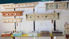 salvage racks and boxes