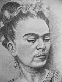 marytere42:  Retrato a lápiz grafito sobre papel marquilla de Arte Rafael Castillo #FB