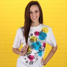 Artfully Me Dye and Marker T-shirt #zentangle  #fashion #craft