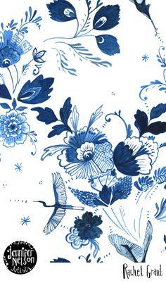 print & pattern: JENNIFER NELSON ARTISTS - new additions