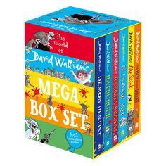 The World Of David Walliams - Mega Box Set by David Walliams | Adventure Stories at The Works