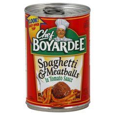 So what if I love Chef Boyardee?!