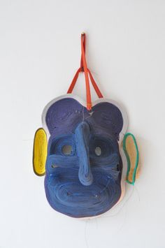 Mask by Bertjan Pot  On one of the best Designjournalism Blogs:  http://matandme.com/bertjan-pot-a-masquerade/