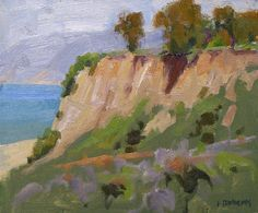 "IanRoberts.com - Gallery - Plein Air Paintings ""Looking North"""