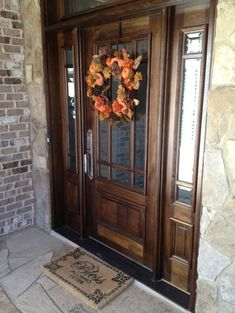 1000 images about front and back door ideas on pinterest for Back entry doors for houses
