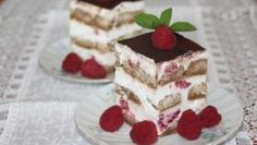 Malinové tiramisu po slovensky Tiramisu, Smoothie, Cake, Ethnic Recipes, Food, Anna, Kuchen, Essen, Smoothies