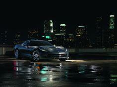 """Cars - Chevrolet Corvette Stingray : la star de """"Captain America : le soldat de l'hiver"""" ! - http://lesvoitures.fr/captain-america-2-chevrolet-corvette-stingray/"""