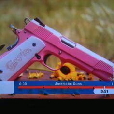 Custom pink Colt 1911