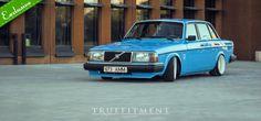 '83 Volvo 244, nice 'n low