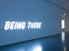»being there« by ron terada
