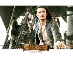 Will Turner from Pirates! Good man gone pirate, its the best of both worlds, haha