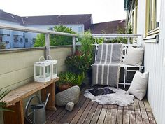 Simpel Balkon Ontwerp : 183 best balkon images balcony gardens garden furniture