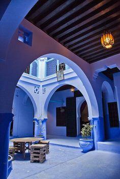 A Cidade Azul No Marrocos!