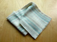 Serviettes de table en lin rayures par LesEtoffesdInterieur sur Etsy Towel, Etsy, Fashion, Wool, Cotton, Napkin, Towels, Stripes, Moda