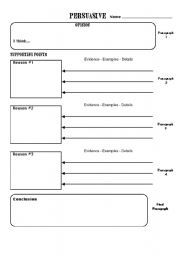 Essay writing help sheet