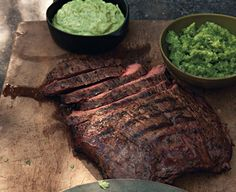 Beer Marinated Steak Recipe - Beer-Marinated Flank Steak with Aji and Guacamole - Esquire