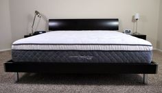 Nest Alexander, King size, platform bed, firm option, rates will for weight capacity. $1.199