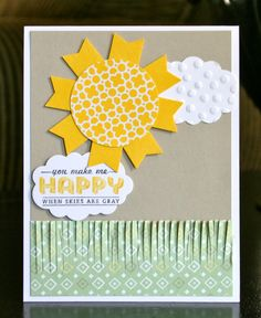 Stampin' Up! SAB by Krystal's Cards and More: You Make Me Happy!!