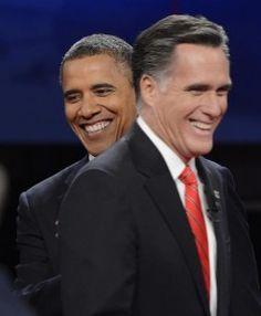 Las primeras encuestas instantáneas tras el primer debate presidencial de EE.UU. dan una clara victoria al  candidato republicano, Mitt Romney...