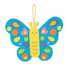 Butterfly+Ornament+Kit+-+OrientalTrading.com