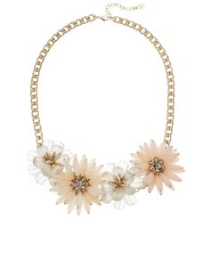 Chrysanthemum Statement Necklace