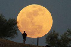 Por Dentro... em Rosa: Dia dos Pais terá a maior Super Lua do ano !