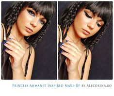 Princess Ahmanet Inspired Make-up! The Mummy Movie | Ale Corina Art
