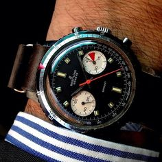 Late 1960s Breitling Sprint