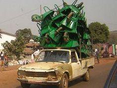 Peugeot 504 pick up - Afrique
