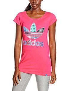 Idée  CadeauDeMerde     adidas Trefoil T-Shirt matelassé pour femmes Merde,  Matelas e77eebb9f5cf
