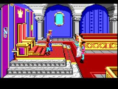 King's Quest! We used to play this on my grandparents' computer!