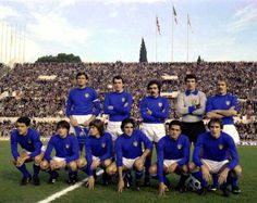 #Italy prior the qualifier against England (1976).