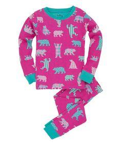 Love this Pink Bears Pajama Set - Toddler & Girls on #zulily! #zulilyfinds