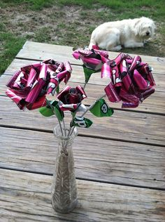 Soda can flowers=awesome
