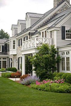 Balcony. Mellowes & Paladino Architects, Inc. - High end Architecture - Boston, MA   Boston Design Guide