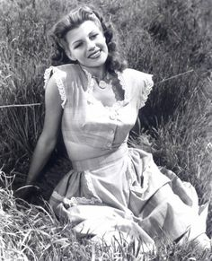 Rita Hayworth by Don't you wish you knew...