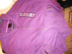 Mens Purple Purgatory Unisex Zippered Hoodie - Sweatshirts, Hoodies