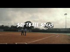 Scarlet, Medium//Large RIP-IT Classic Softball Over The Knee Sock