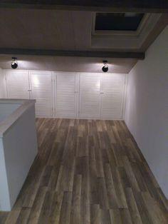 Verbouwen zolder #inspiratie zolder - louvre deurtjes