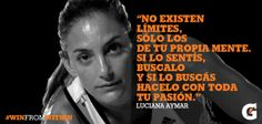 Gatorade, Luciana Aymar quotes , field hockey , Leonas, argentina