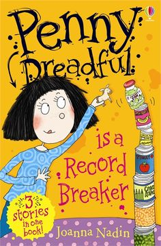 """Penny Dreadful is a Record Breaker"" at Usborne Children's Books Penny Dreadful, Image Cover, Ya Books, Dad Jokes, My Dad, My Children, Thats Not My, Bucket, People"