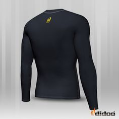 This Shirt has an ergonomic design with a flat seam construction, designed to reduce chafing and Improve the fit to enhance performance. This product is 100% Genuine and come with tags.  Ideal as a base layer or for training, Didoo Shirts are a tight fit compression garment. All Season Compression Baselayer which keeps you cool when its hot and keeps you hot when its cool. Profile Design, Keep Your Cool, Shirt Sleeves, Wetsuit, Tights, Hot, Swimwear, Cycling, Zero