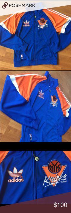 f9f8d8b61 Adidas NBA Knicks Men s Track Jacket Adidas Men s Knicks NBA Track Jacket Size  Large NBA  amp